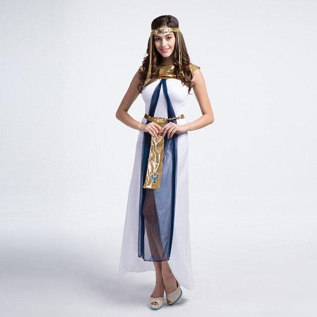 dd678ca30f Kostium na Halloween greckiej bogini kobiety odzież sukienka party COS  sukienka kleopatra kostium emiraty kobieta whitevestidos