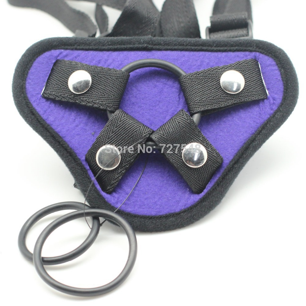 Black Velvet Strap Ons Accessories ,Strap On Harness For -1530