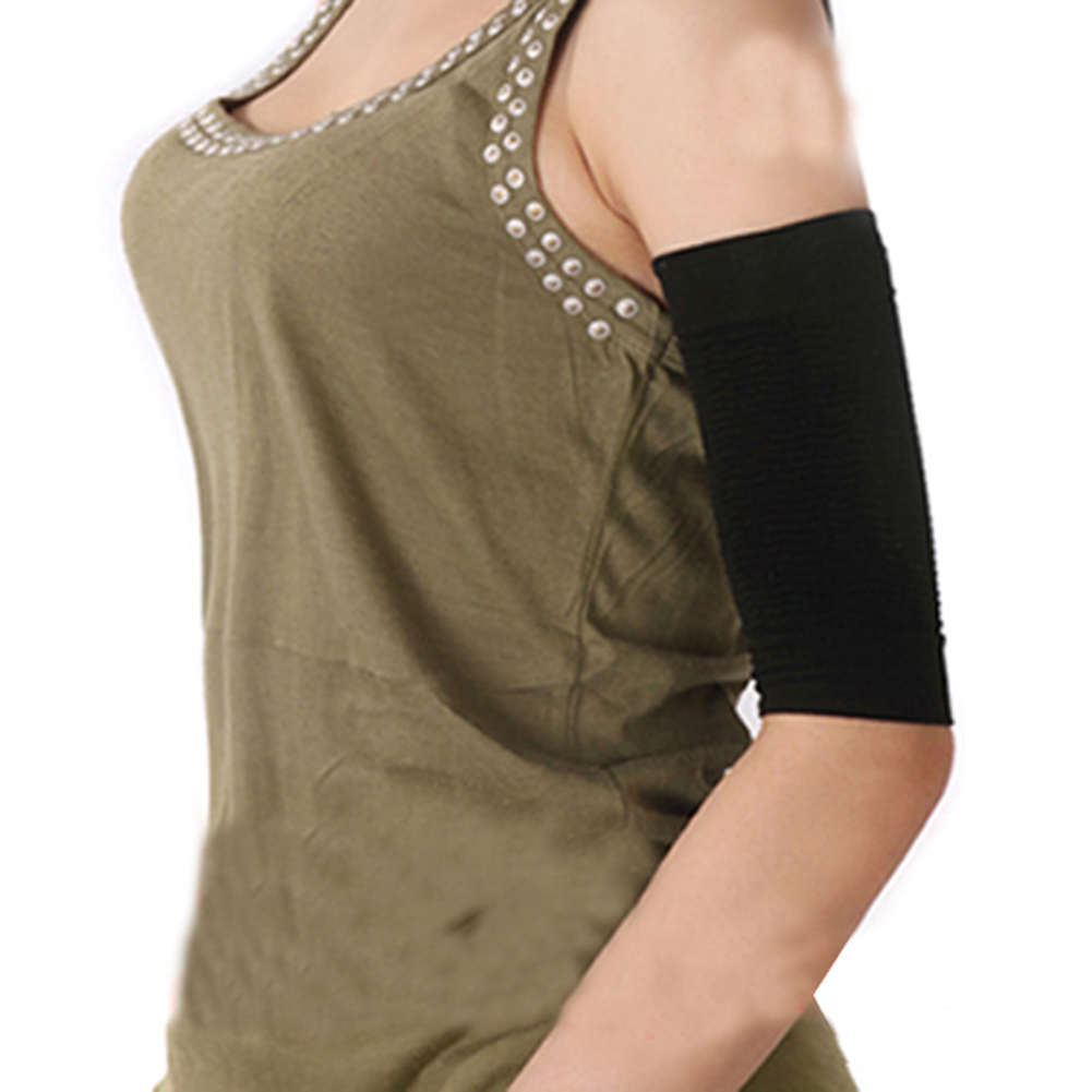 Beauty Women arm slimming sleeves Wraps Loss Weight Calories off Slim Arm Shaper Massager Girl Lose Fat Burn sleeve Product 2pc