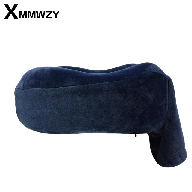New Comfortable Multi-Color U Shaped Neck Travel Pillow Automatic Neck Support Head Rest Cushion With Memory Foam U-Shape Pillow