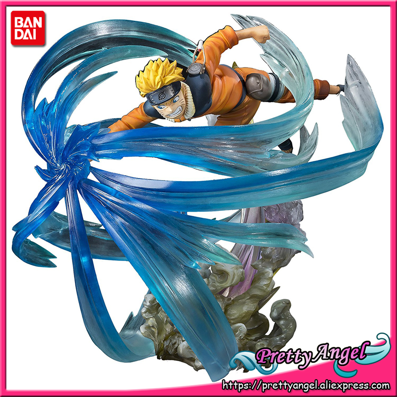 PrettyAngel - Genuine Bandai Tamashii Nations Figuarts ZERO Exclusive Naruto Shippuden Naruto Uzumaki Relation Collection Figure все цены