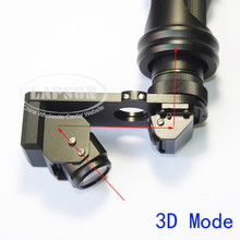 3D Stereo & 2D (2 models) 180X Zoom C-Mount Lens for Digital Industrial Microscope Camera