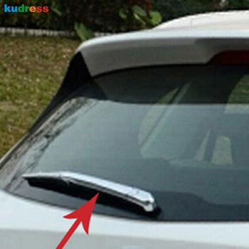 Untuk Mazda CX-5 CX5 2012 2013 2014 2015 Hatchback ABS Chrome Styling Penutup Belakang Jendela Wiper Kaca Depan Potong Auto Model 4 pcs