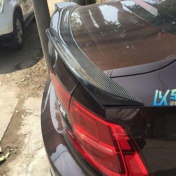 新製品は、販売のためのボルボ S90 スポイラー炭素繊維材料リアスポイラーのための車ボルボ S90 s90l S90L スポイラー 2017-2019