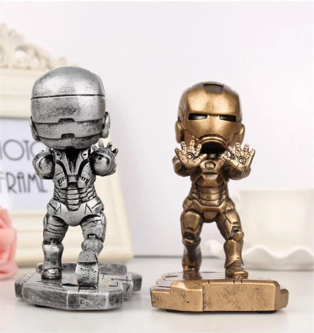 Universal Fashion iron Man Mobile Phone Support Holder For iPhone 6 6S 6 Plus 7 7plus