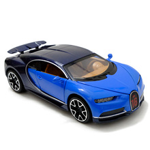 1:32 Oyuncak Araba Bugatti Chiron Metal Oyuncak Alaşım Araba Diecasts & Oyuncak Araçlar Araba Modeli Minyatür Ölçekli Modeli oyuncak arabalar Boy çocuk