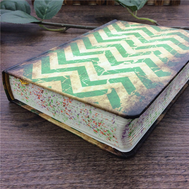 2017 Tjocklek Personlighet Vintage Stationery Studentpapper Notebook Notebook Agenda Journal Planner Student Gifts