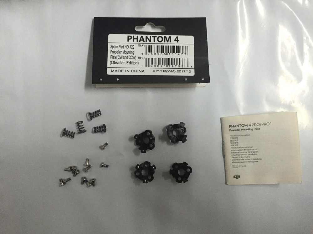 US Drone Parts DJI Phantom 4 Pro Obsidian propeller base NEW