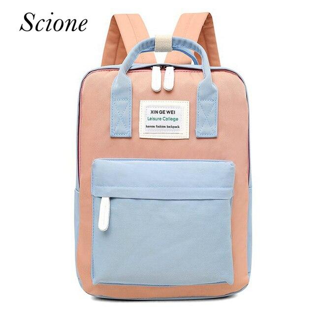 9e5730c8f58 Multifunctional Women Backpack Korean Style School Bags for Teenager Girls  Larger Capacity Laptop Back Pack Travel Bags mochilas