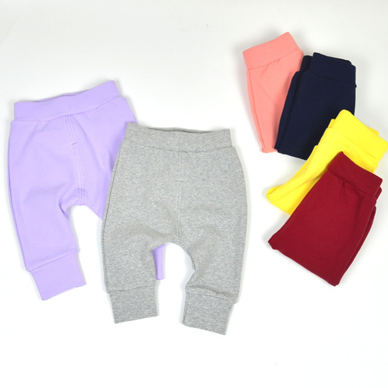 2017-Baby-Boy-Girl-100-Cotton-Trousers-Kids-Wear-For-Autumn-Spring-Children-Clothing-Legging-thick-terry-trousers-harem-pants-5
