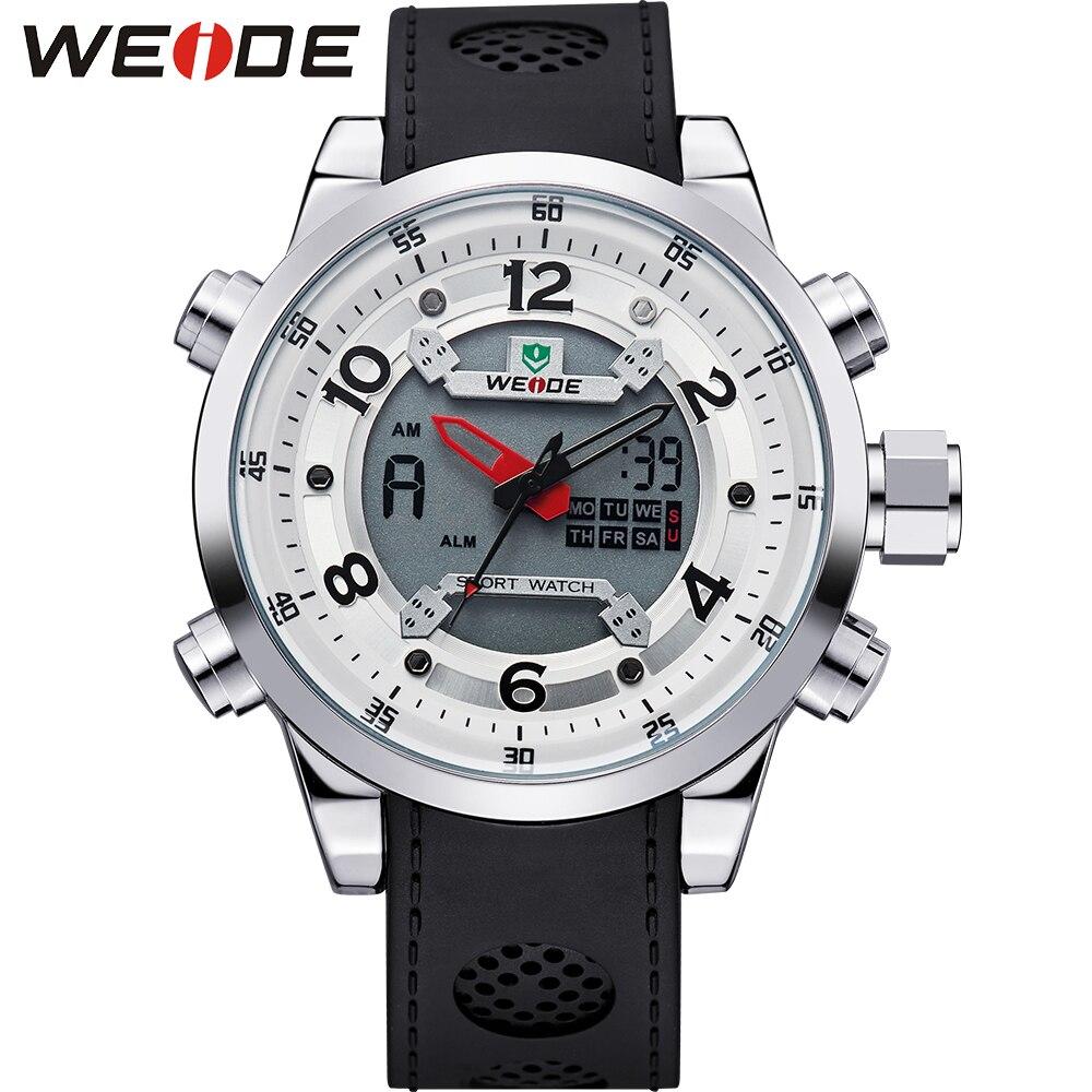 New WEIDE Relogio Masculino Outdoor Sport Watches For Men Quartz Digital Multimeter Luxury Brand Dive Watch