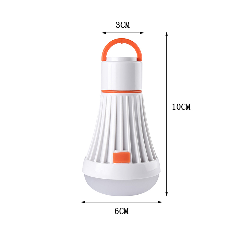Купить с кэшбэком Portable Camping Light Use AAA/18650 4Modes 6Led 3W Flashlight Torch Lanterns Magnet Hanging Lamp Task Lighting For Camping Lamp