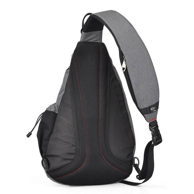 Image 3 - Mixi Men Sling Backpack One Shoulder Bag Boys Student School Bag University Work Travel Versatile 2019 Fashion New Design M5225Backpacks   -
