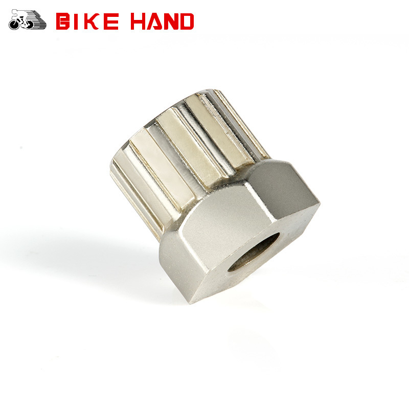 BIKE HAND Bicycle Freewheel Remover Mountain Bike Flywheel Removal Crank Repair Tool Disassemble Socket