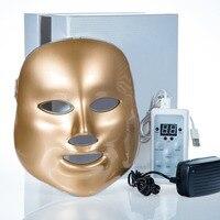 新しい7色光フォトンledフェイシャルマスク肌の若返りケア若返り美容フォトン入札治