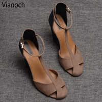 2019 nouvelle mode femmes sandales d'été chaussures à semelles compensées dame taille 40 41 aa0749