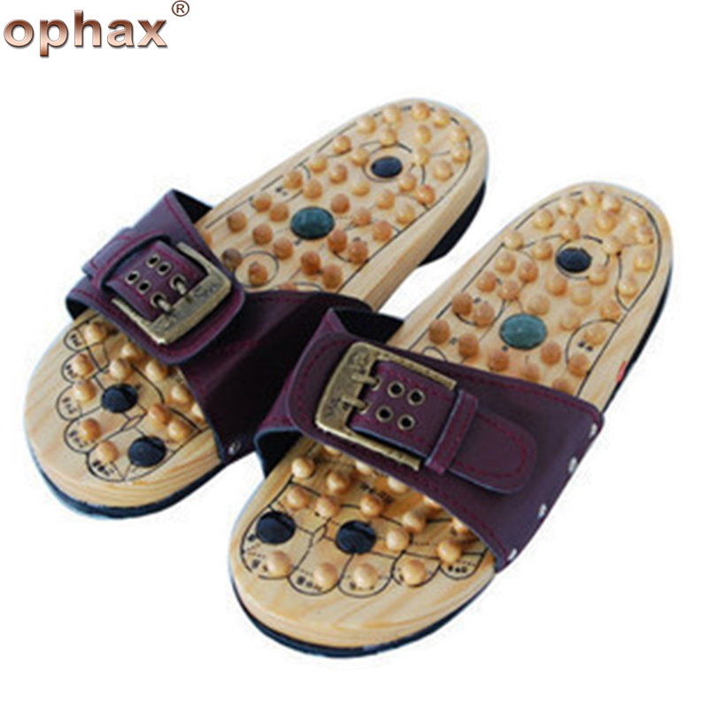OPHAX Foot massage shoes acupoint massager Promote Blood circulation Improve leg pain Foot Care Foot massage Slippers Relaxation electric antistress therapy rollers shiatsu kneading foot legs arms massager vibrator foot massage machine foot care device hot