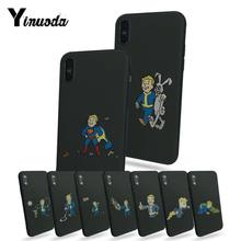 Yinuoda PIP Anak Fallout Baru Phone Ultrathin Case untuk Apple Iphone 5 5S 5c Se X XS XR 8 8 PLUS 7 7 Plus 6 S 6 S PLUS(China)