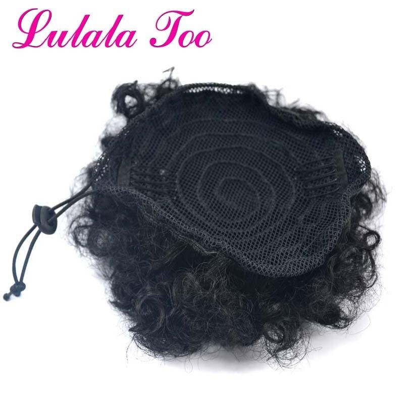 bun chignon hairpiece para as mulheres cordão