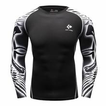Под футболка homme Легкой Атлетике Топы Блузка Дыхания Сжатия Рубашка Броня Фитнес футболки мужские женские Футболки