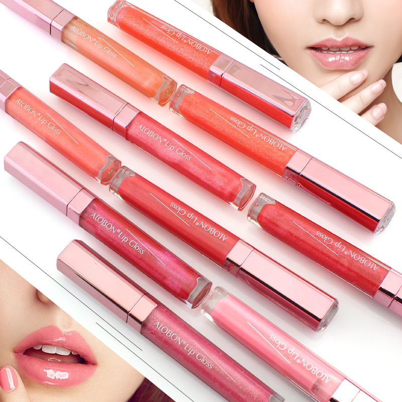cdbfd3196a81 US $2.84 5% OFF|Hot sale Amazing New 12 Colors Lip Gloss Professional  Liquid Lipsticks Moisturing Nude Lipgloss Makeup Lipstick Cosmetics-in Lip  Gloss ...