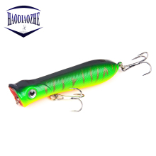 Купить с кэшбэком Popper Wobbler Fishing Lure  8cm 11.5g Isca Artificial Fishing Bait Crankbait Wobblers 6# High Carbon Steel Hook Fishing Lures