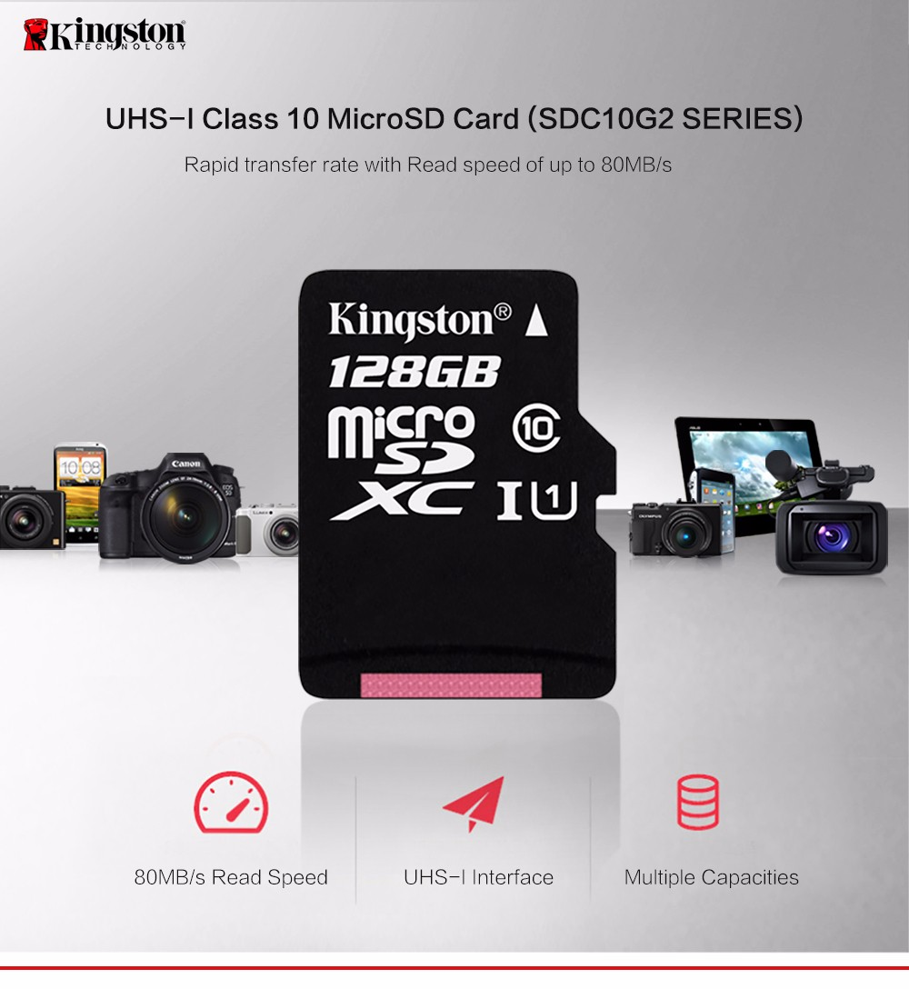 Kingston Micro SD Card  Memory Card Class10 carte sd memoria C10 Mini SD Card SDHC/SDXC TF Card  UHS-I For Mobile phone 13