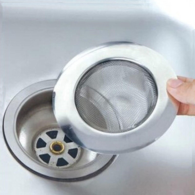 Creative Multipurpose Stainless Steel Mesh Kitchen Appliances Sewer ...