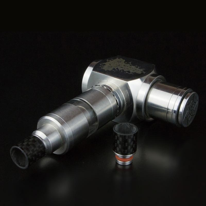 ugljični vlakno Široki provrti usnika za usta Tip za kapanje 510 - Elektronske cigarete - Foto 3