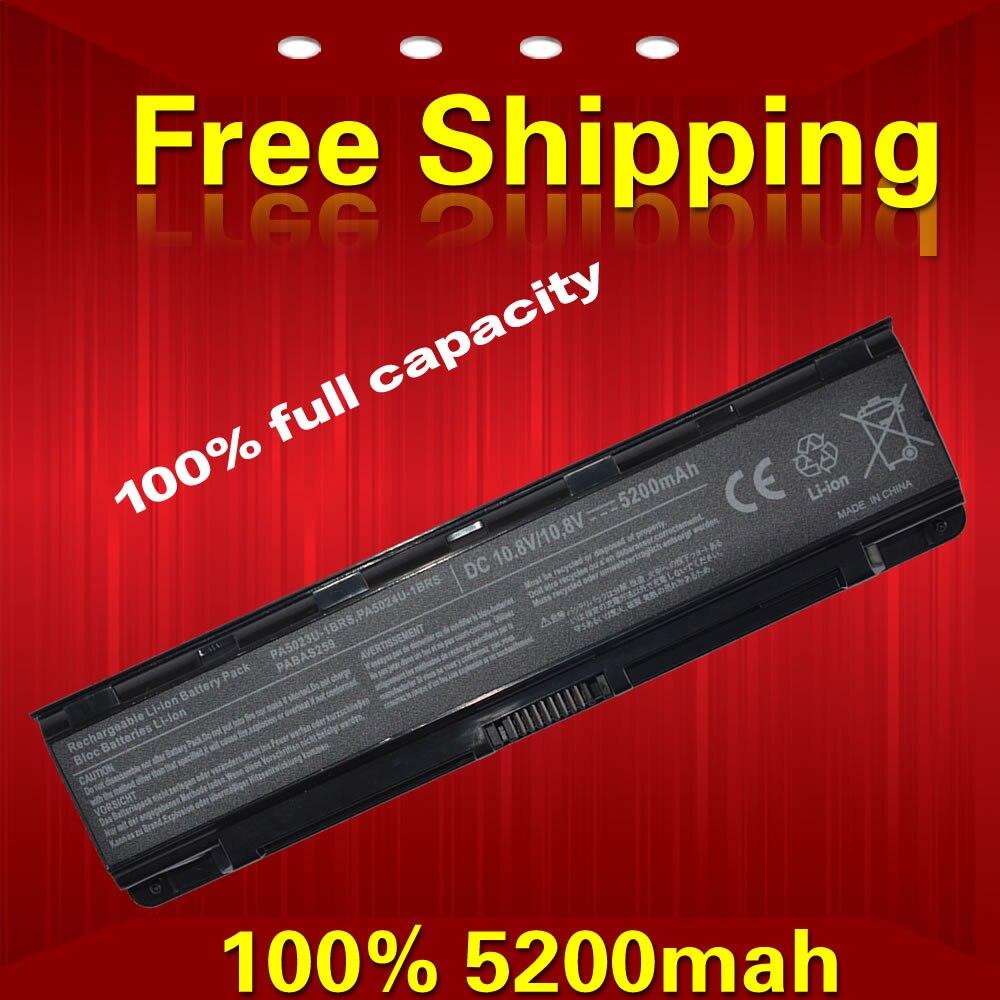 aa99a8c12c4 5200 mAh batería del ordenador portátil para Toshiba Dynabook T550 T552  satélite C800 C850 C870 L70 L800 L830 L840 L850 L870 M800 m840
