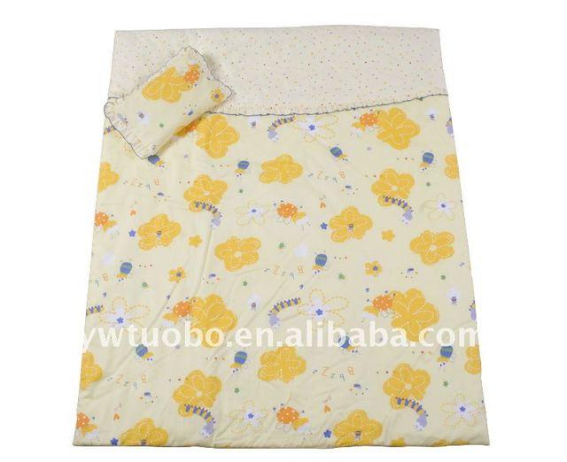 lovely design patchwork baby cot bedding quilt set