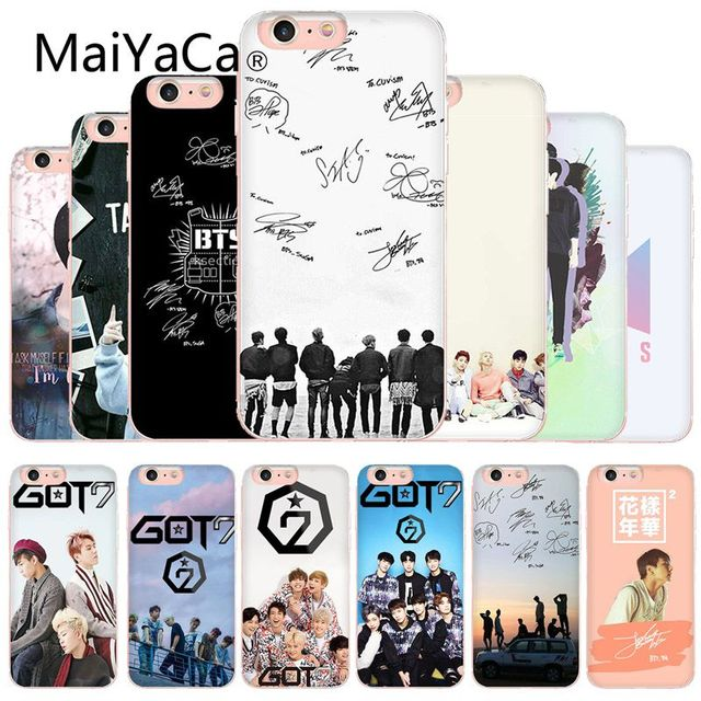Maiyaca Bts Signatures 3 Hot Selling Phone Case Cover Shell For