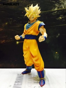 Фигурка Dragon Ball Son Goku, фигурка SonGoku MSP, фигурка супер сайяна, ПВХ, 280 мм, Dragon Ball Z, экшн-фигурка DBZ DragonBall Z