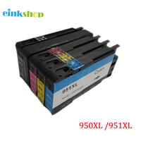 Compatible Ink Cartridge For HP 950XL Black 951XL Cyan Magenta Yellow Ink For Officejet Pro 8600