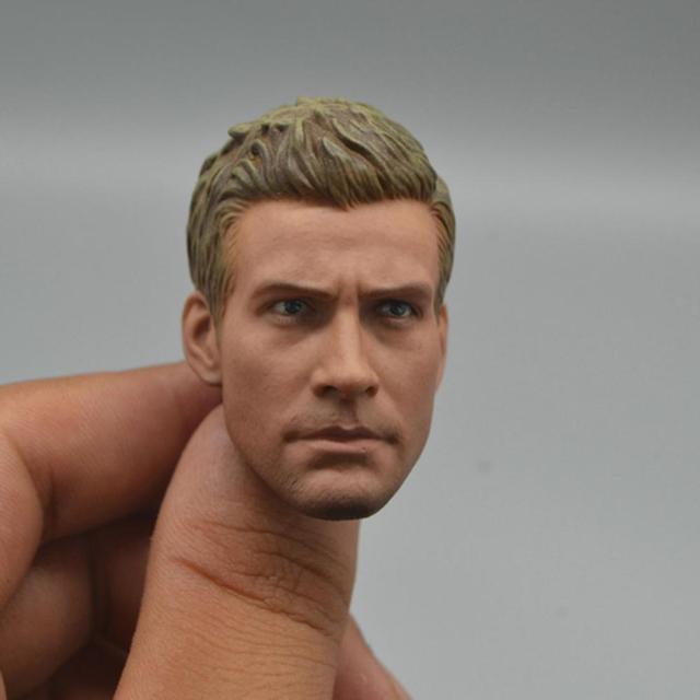 Europa e América Do Cabeça de Modelo Masculino Chefe Sculpt para 1/6 Scale Action Figure modelo acessórios
