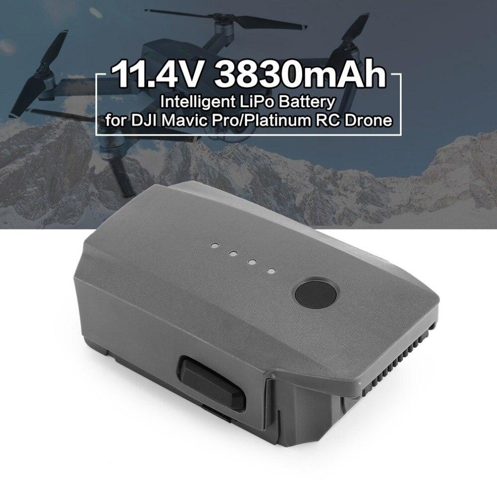 11,4 В 3830 мАч 3 S интеллектуальные запасной рейс LiPo Батарея Запчасти для авто для DJI Мавик Pro Platinum FPV Quadcopter RC drone