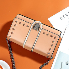 PONG WEE Women Shell Bag Genuine Leather High Quality  Ladies Mini Handbag Oil Wax Leather Shoulder Messenger Packet 2018 New