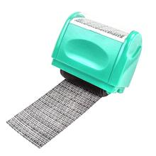 New Creative Identity Privacy Protection Confidentiality Roller Stamp Information Coverage Data 40