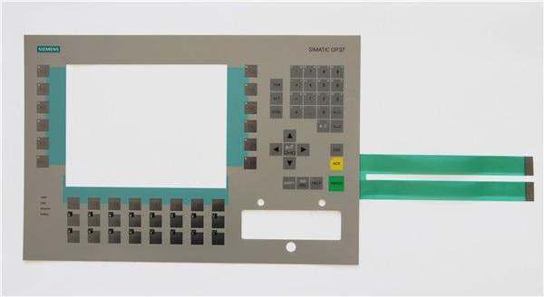 Membrane keyboard for 6AV3 637-1LL00-0XB0 SlMATIC OP37,Membrane switch , simatic HMI keypad , IN STOCK new membrane keyboard 6av6 542 0bb15 2ax0 for slmatic hmi op170b new keypad membrane switch simatic op170b hmi keypad in stock