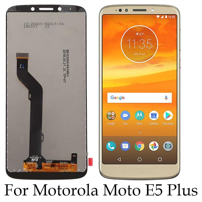 For Motorola Moto E5 Plus XT1924 XT1924-1 XT1924-2 Lcd Screen Display+Touch Glass Digitizer Assembly Moto E Plus (5th Gen) lcd