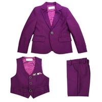 Hot New Children Suit Baby Boys Suits Kids Blazer Boys Formal Suit For Wedding Boys Clothes Set Jackets Blazer+Pants 3pcs 2Y 10Y