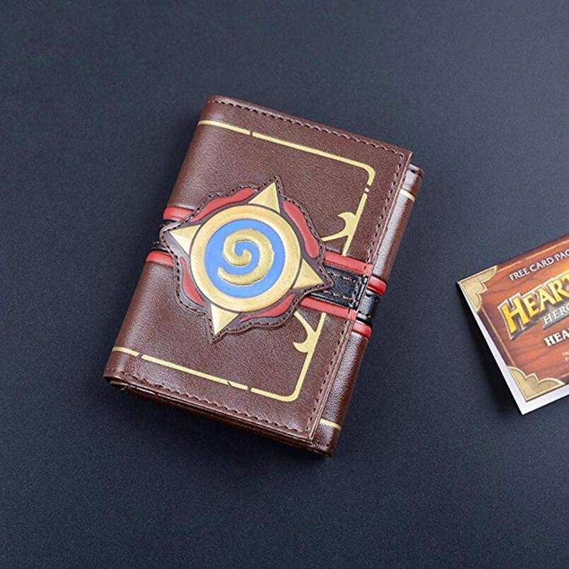 Hearthstone logo wallet Game Hearthstone Package Region free Wallet purse Short