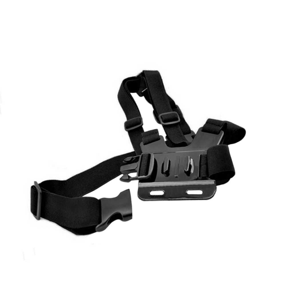 Спортивные аксессуары для камеры регулируемое крепление из ремней на тело нагрудный ремень крепление для SJCAM Xiaomi для Xiaoyi для Gopro 3 4 5 6 7 нагрудный ремень