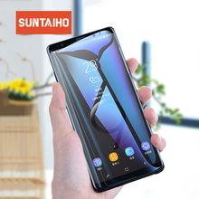 Suntaiho 3D note 9 Full Curved Tempered Glass For Samsung Galaxy Note 9 9H Screen Protector For Samsung Note 8 Protective Film
