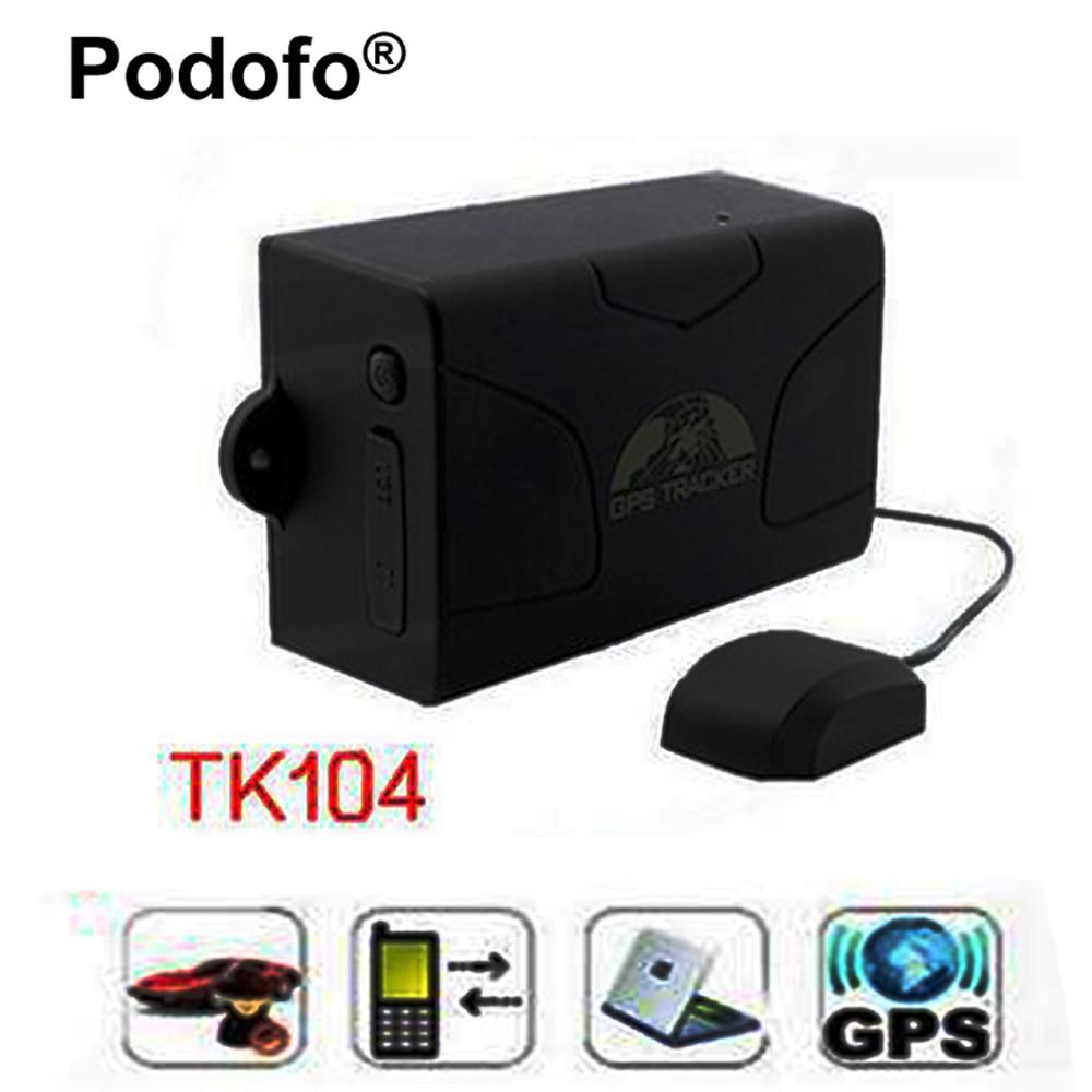 ФОТО New TK104 Car GPS Tracker Waterproof GSM Tracking Rastreador Standby Time 60 days Vehicle Tracker with 6000mAh battery