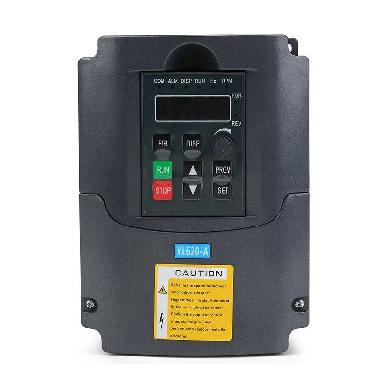 1.5KW ER11 Air-cooled FRÄSSPINDEL SPINDELMOTOR Frequenzumrichter VFD luftgekühlt
