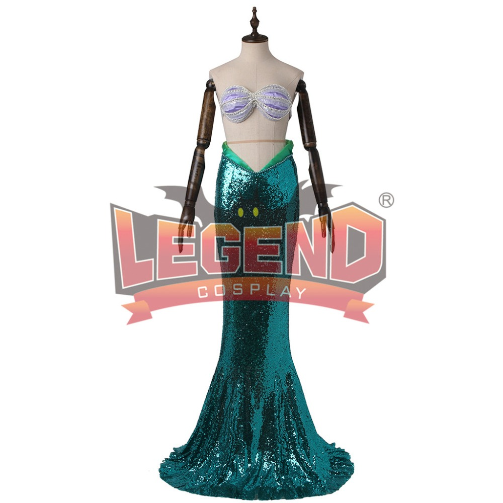 The Little Mermaid Skirt Ariel Princess Ariel Costume Dress for adult Cosplay Costume Tailor-made