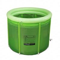 Adult Bath Barrel Double Inflatable Bathtub Thickened Adult Folding Bath Barrel Plastic Large Household Bath Barrel Body