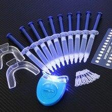 치아 미백 44 % 퍼 옥사이드 치과 표백 시스템 구강 젤 키트 치아 미백 치과 장비 드롭 배송