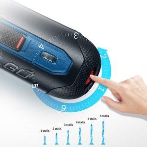 Image 4 - Bosch Go 6 Modes Adjustable Torques Screwdriver Tool Kits ,Rechargeable 3.6V Smart Cordless Screwdriver Mini Power Tool